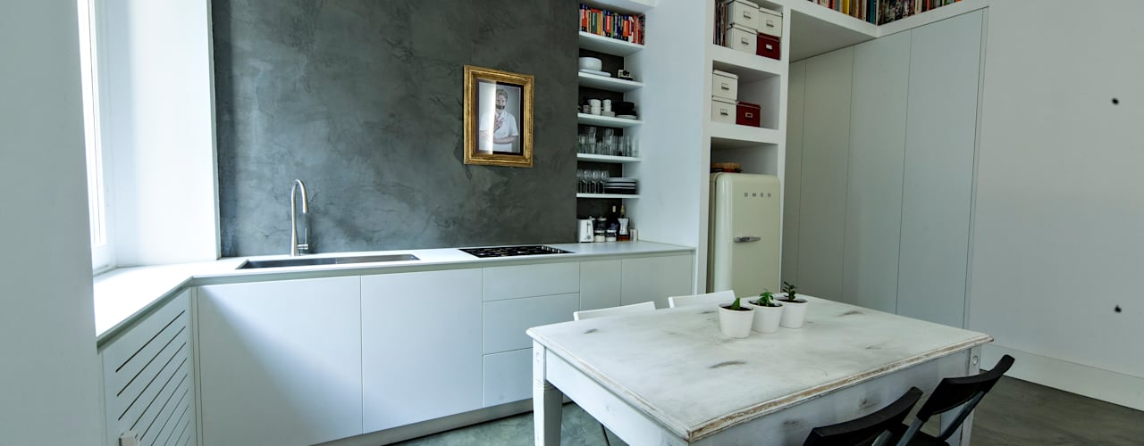studio ferlazzo natoli Cozinhas minimalistas