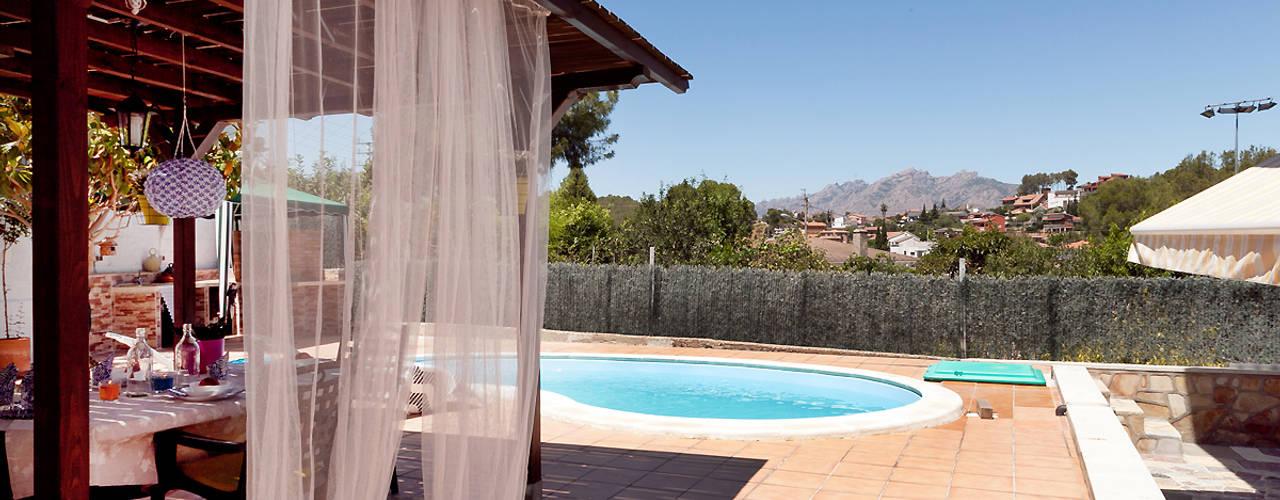 Balcones y terrazas de estilo mediterráneo de custom casa home staging Mediterráneo