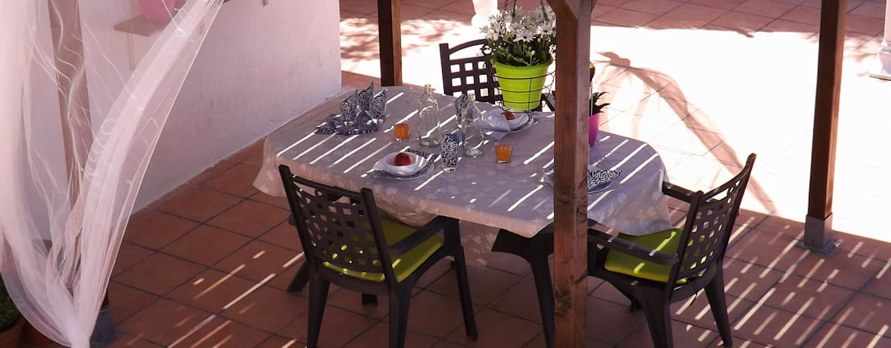 Balcones y terrazas mediterráneos de custom casa home staging Mediterráneo