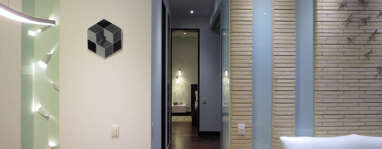 REMODELACIÓN LOFT Salas de estilo minimalista de ARTEKTURE S.A.S Minimalista