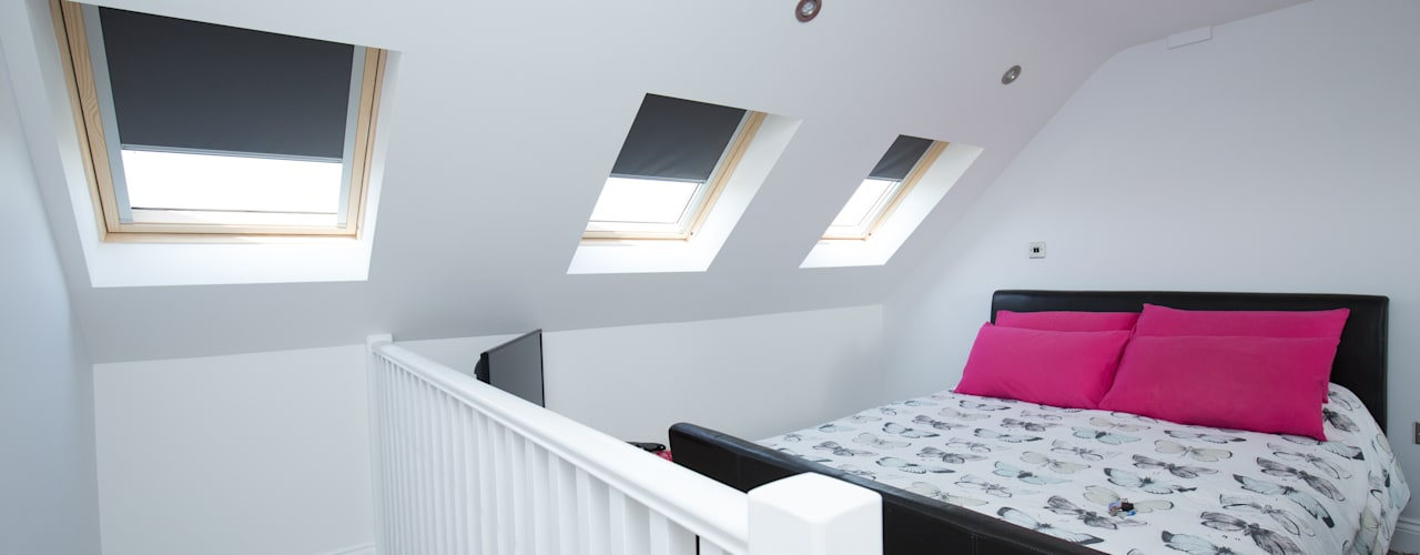 A hidden bedroom, perfect for your teen!:  Bedroom by The Market Design & Build