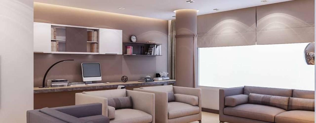 Salas / recibidores de estilo  por VERO CONCEPT MİMARLIK