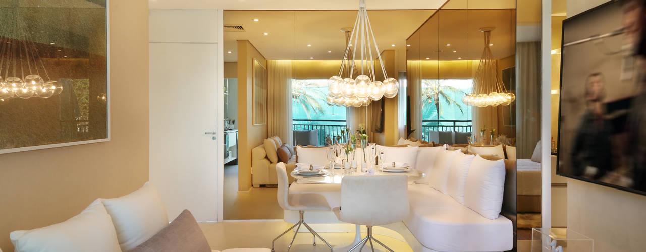 غرفة السفرة تنفيذ Chris Silveira & Arquitetos Associados