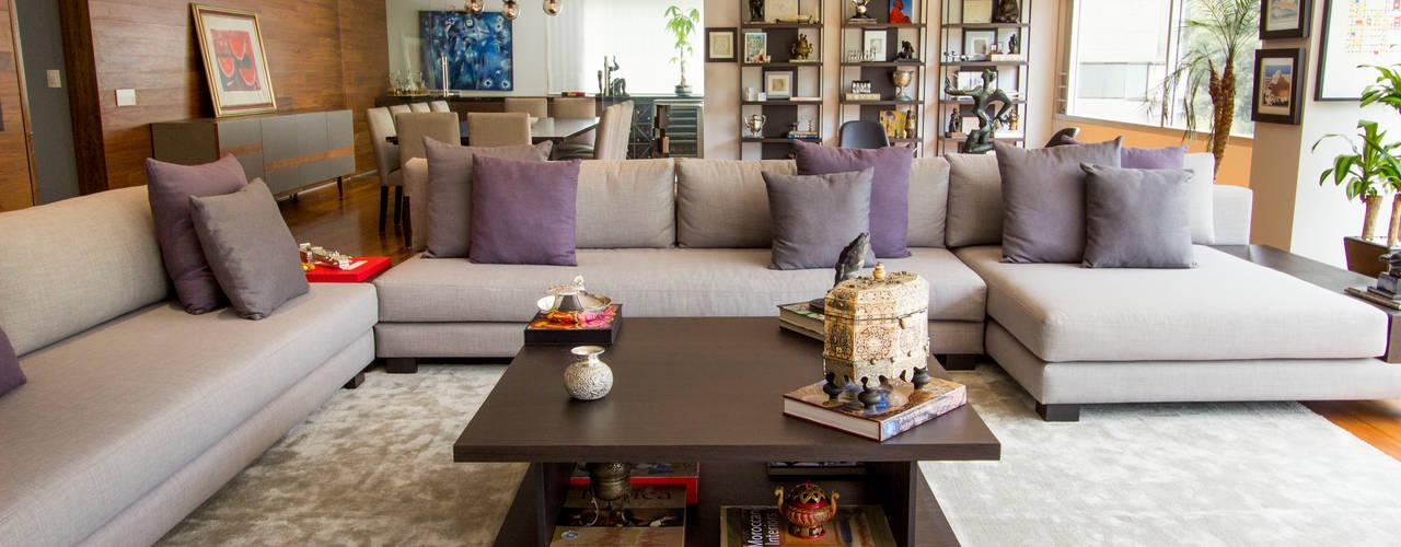 Moderne Wohnzimmer von Concepto Taller de Arquitectura Modern