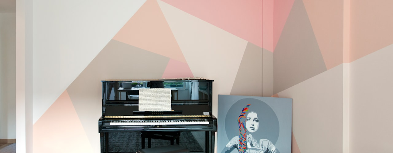 Salones de estilo moderno de moovdesign Moderno