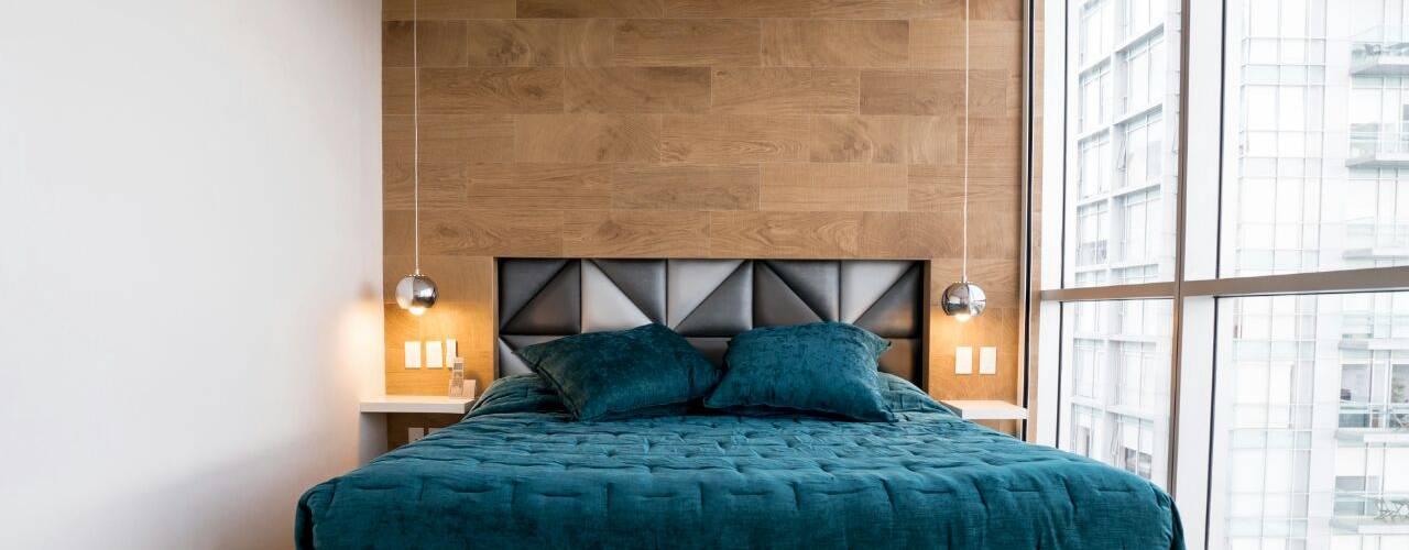 Chambre de style  par HO arquitectura de interiores