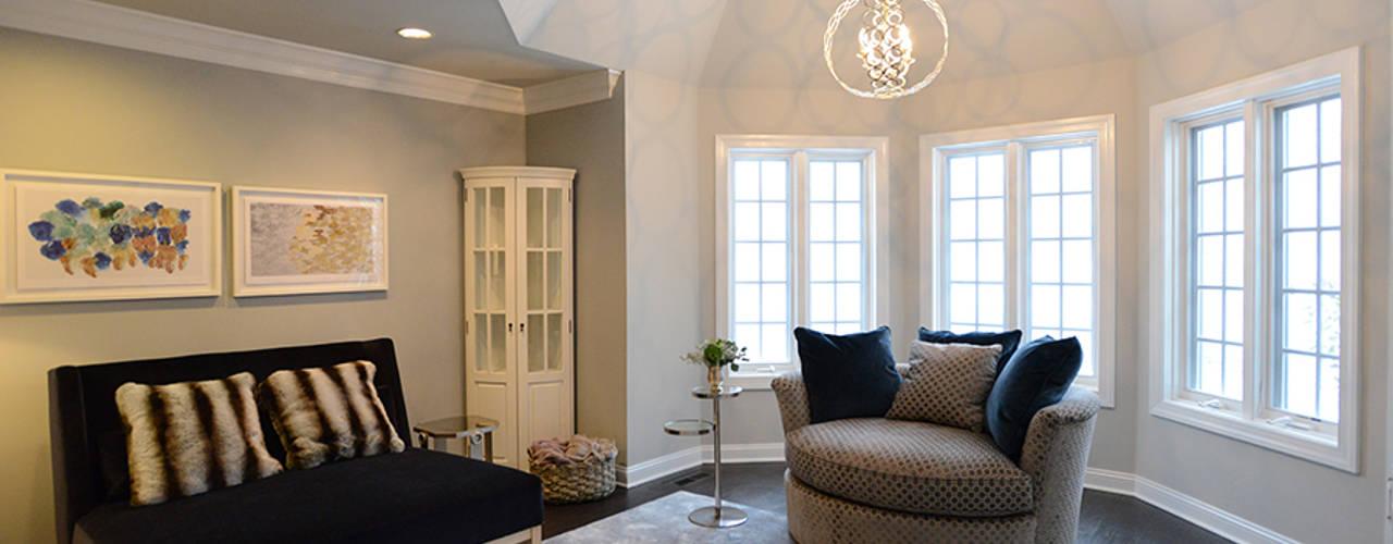 Villanova Classic style bedroom by Mel McDaniel Design Classic