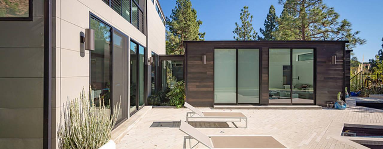 Casa prefabricadas de Construcciones F. Rivaz Moderno