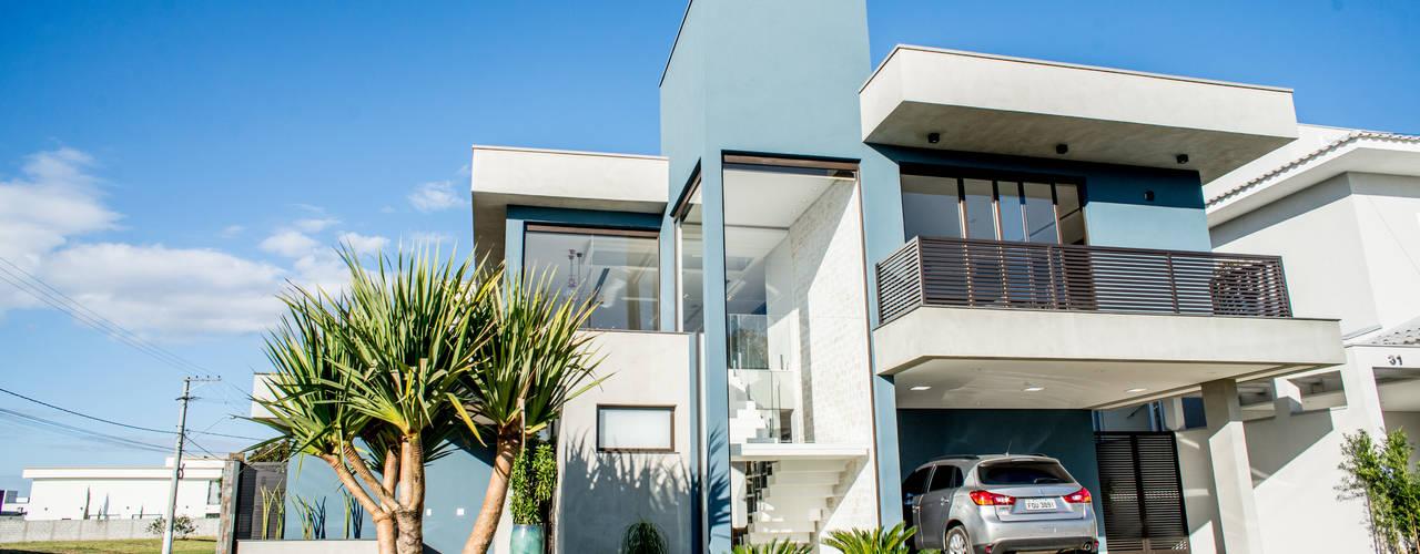 Casas de estilo  por Camila Castilho - Arquitetura e Interiores, Moderno