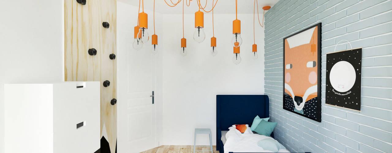 Kamar Bayi/Anak Gaya Skandinavia Oleh Kul design Skandinavia