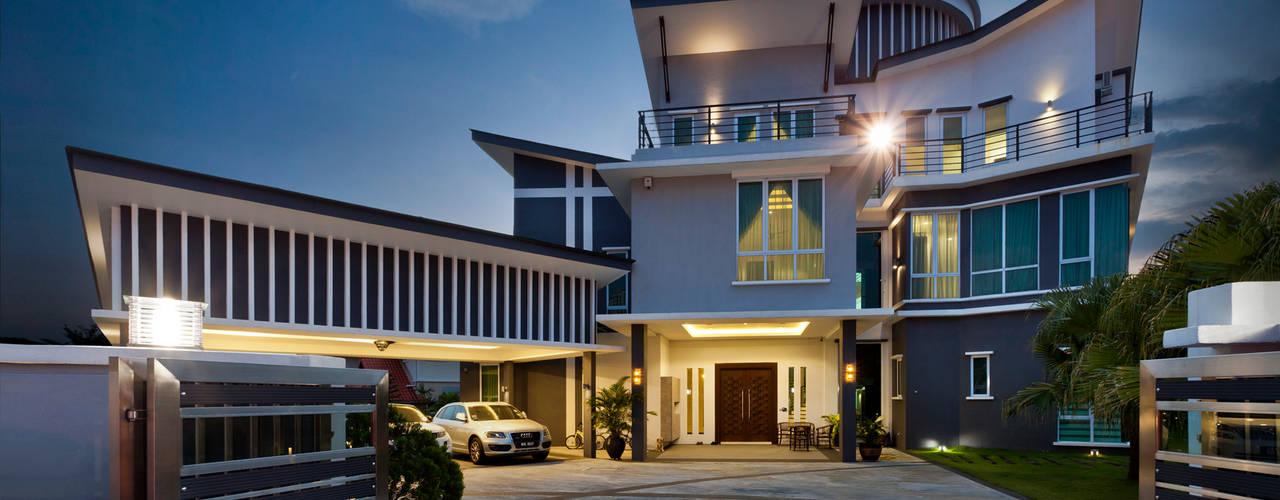 Modern balcony, veranda & terrace by Design Spirits Modern