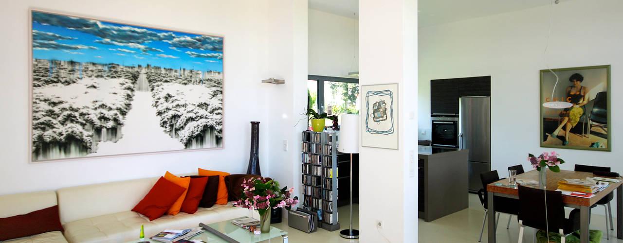 Ruang Keluarga oleh ARCHITEKTEN BRÜNING REIN, Modern