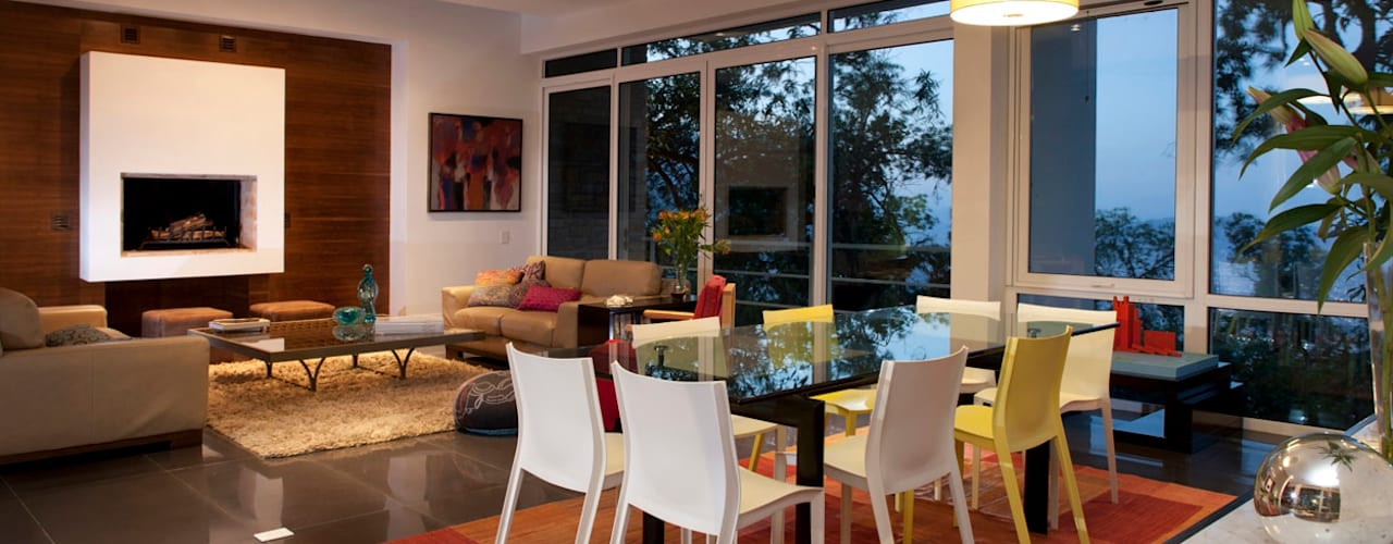 Comedores modernos de Local 10 Arquitectura Moderno