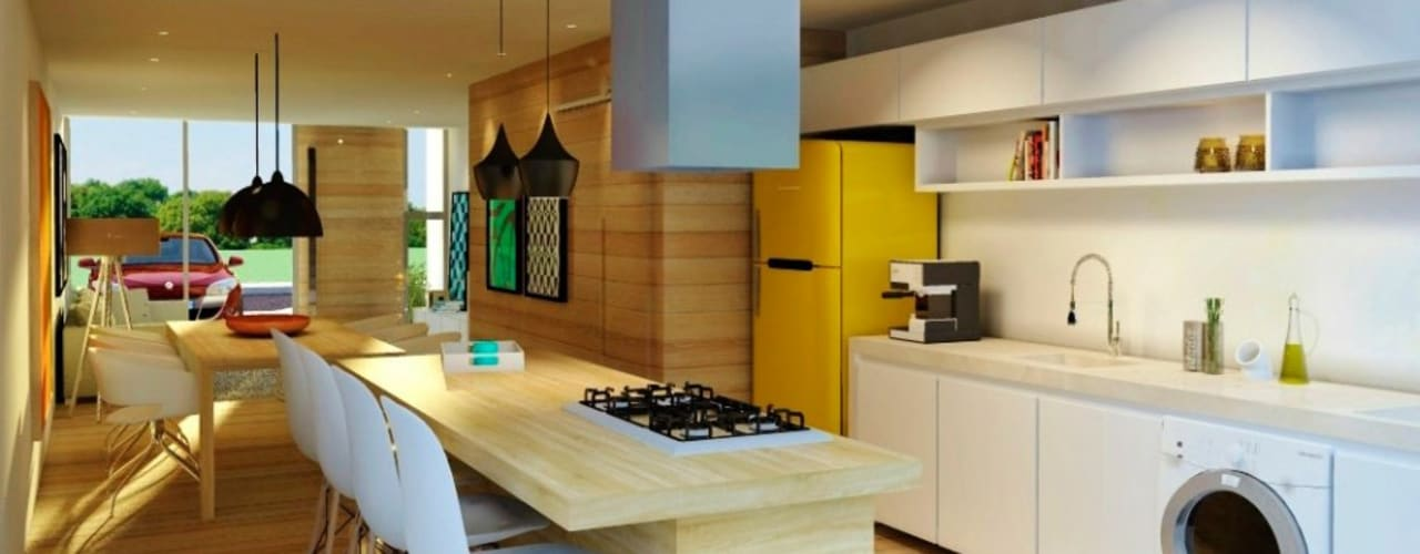 Modern kitchen by hola Modern