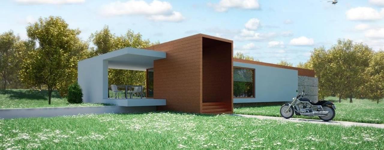 1381-PP-0814 Casas modernas por Oliveiros Grupo Moderno