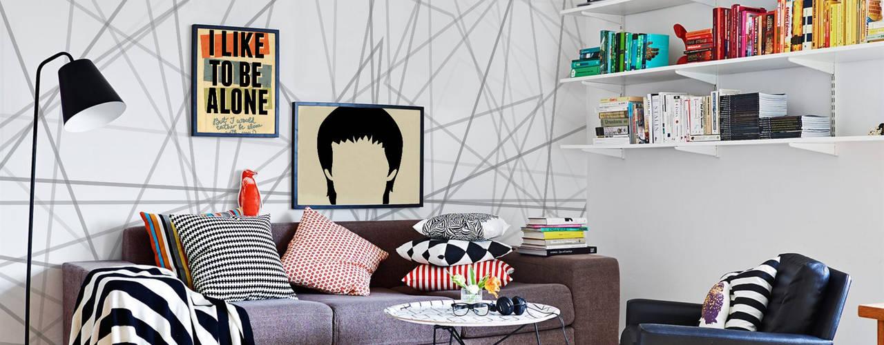 Living Room Salas de estilo moderno de Pixers Moderno