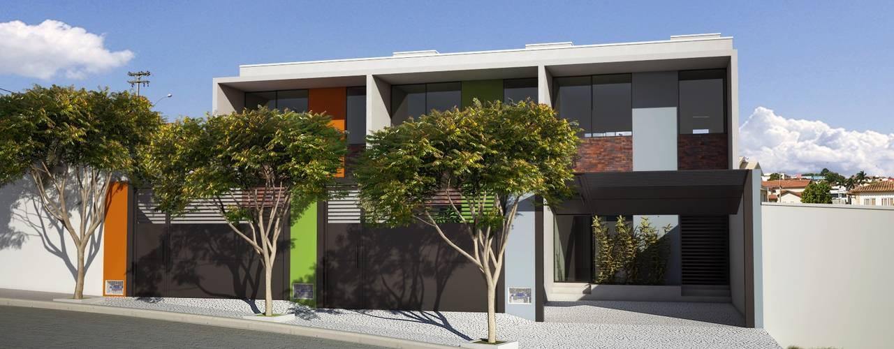 Lofts: Casas  por canatelli arquitetura e design