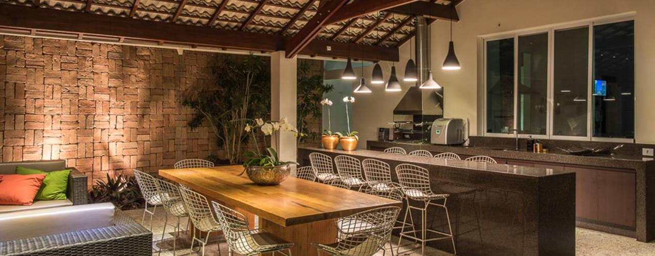 Comedores de estilo  por Andréa Buratto Arquitetura & Decoração