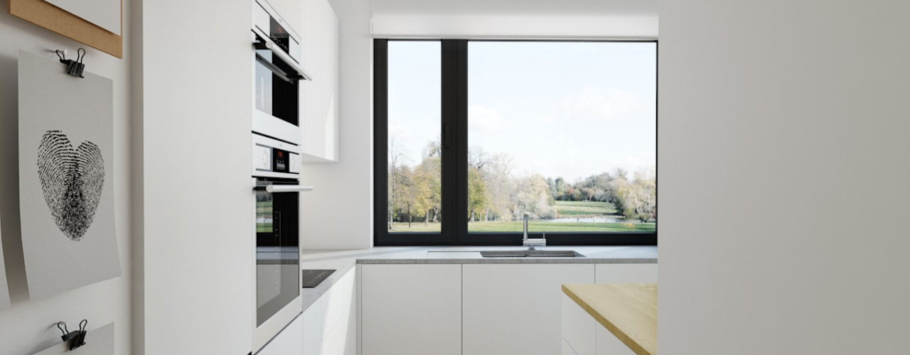 Modern Kitchen by INSIDEarch Modern