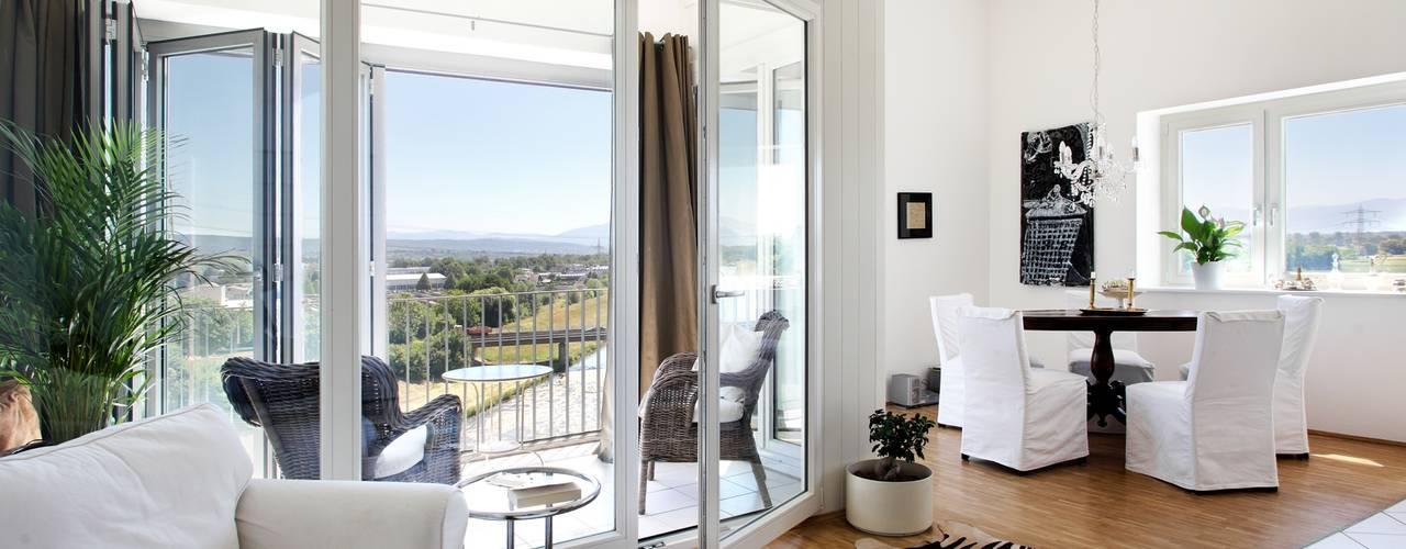 인더스트리얼 창문 & 문 by Kneer GmbH, Fenster und Türen 인더스트리얼