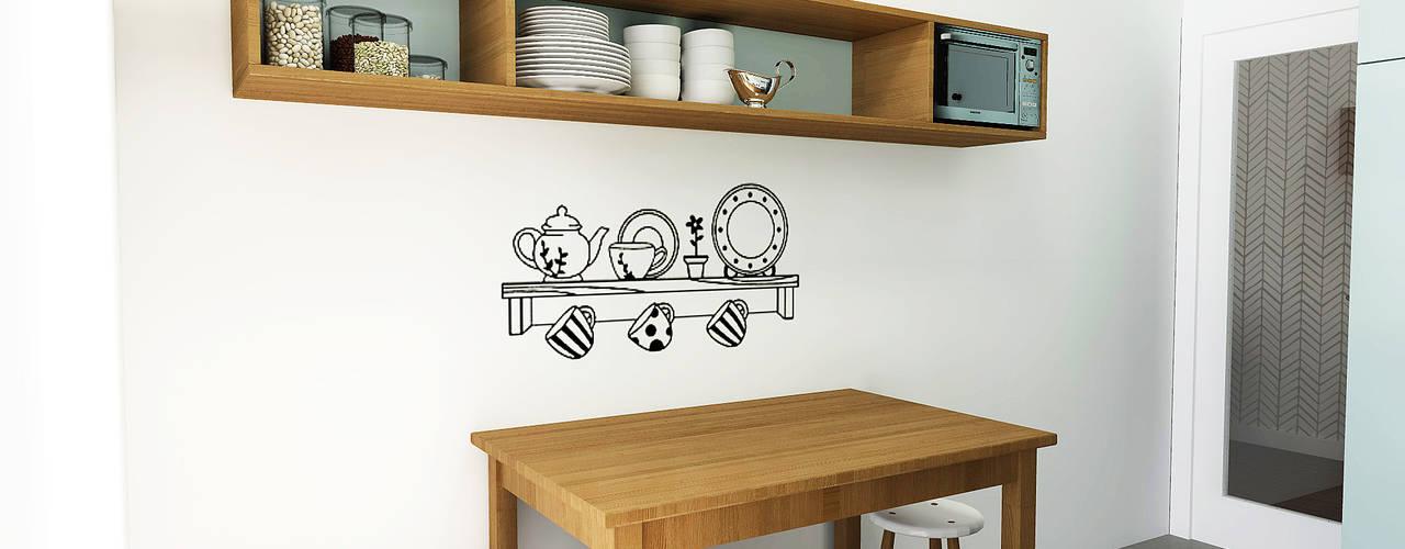 Cocinas de estilo  de homify, Escandinavo