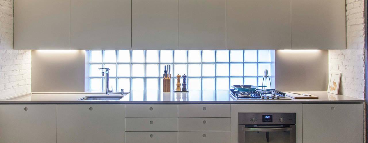Cocinas modernas: Ideas, imágenes y decoración de ivan ventura arquitetura Moderno
