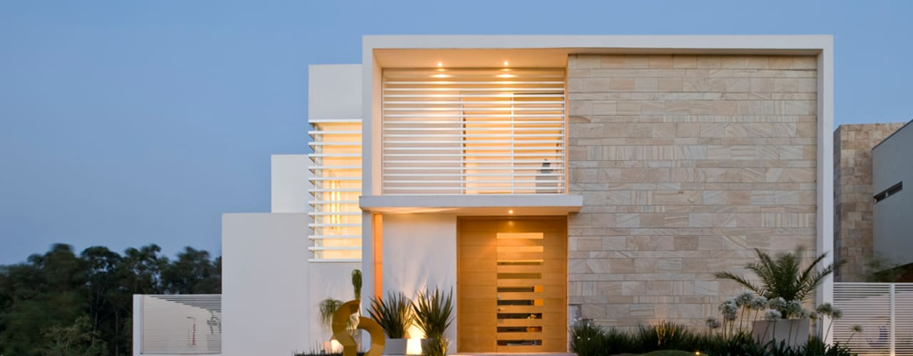 Casa M: Casas de estilo  por Agraz Arquitectos S.C.