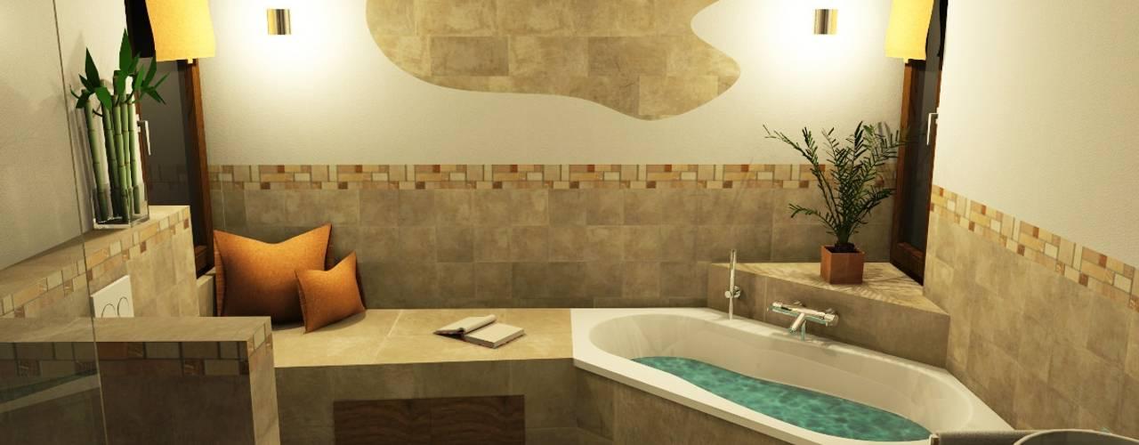 Projekty,  Łazienka zaprojektowane przez Bad Campioni