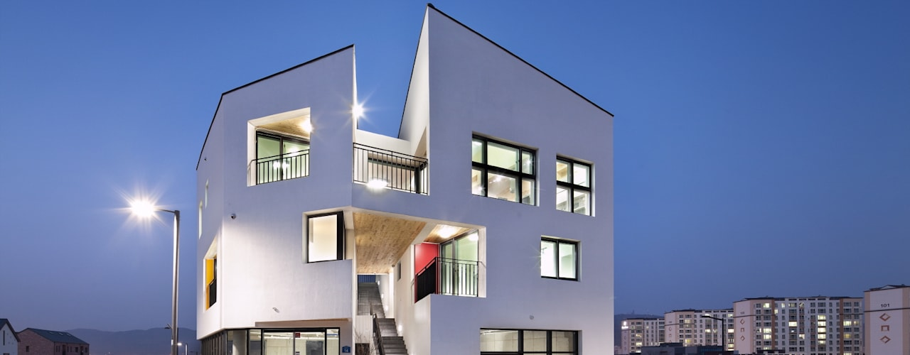 DOUBLE HOUSE 아시아스타일 주택 by ON ARCHITECTURE INC. 한옥