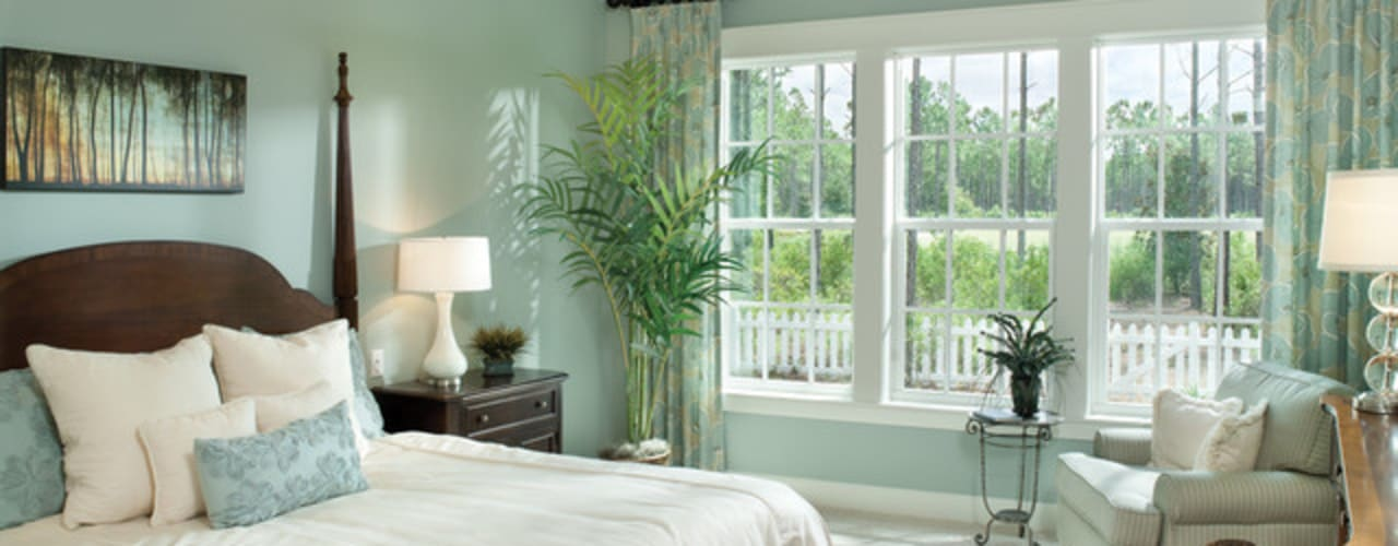 Tropical style bedroom by Casa Bruno American Home Decor Tropical