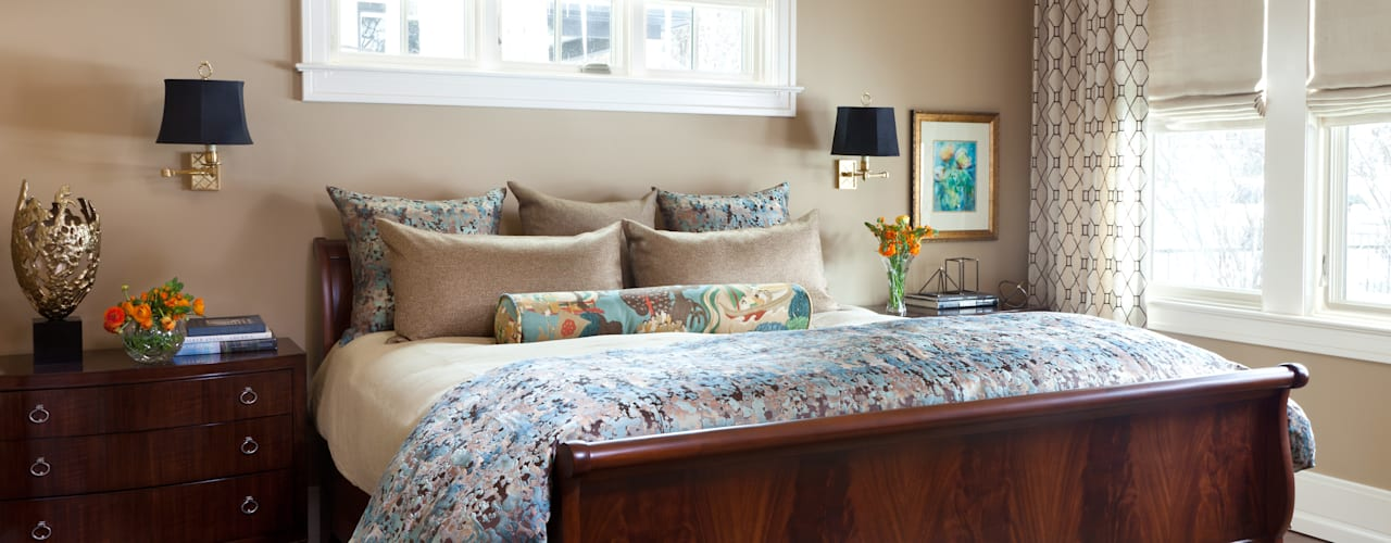 Classic style bedroom by Andrea Schumacher Interiors Classic