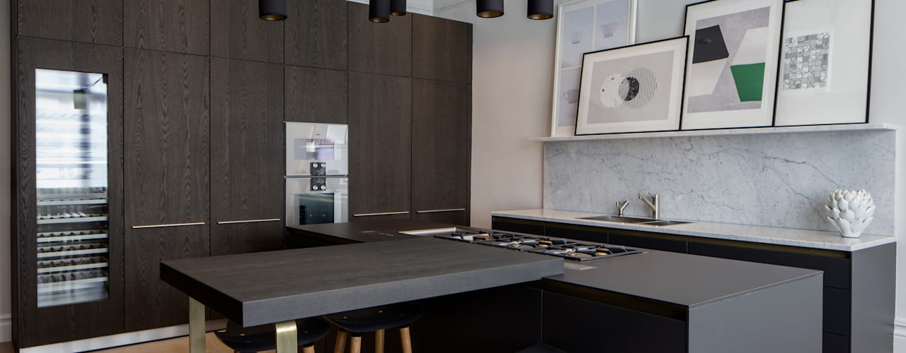 Belsize Park: North West London Modern Kitchen by Roselind Wilson Design Modern