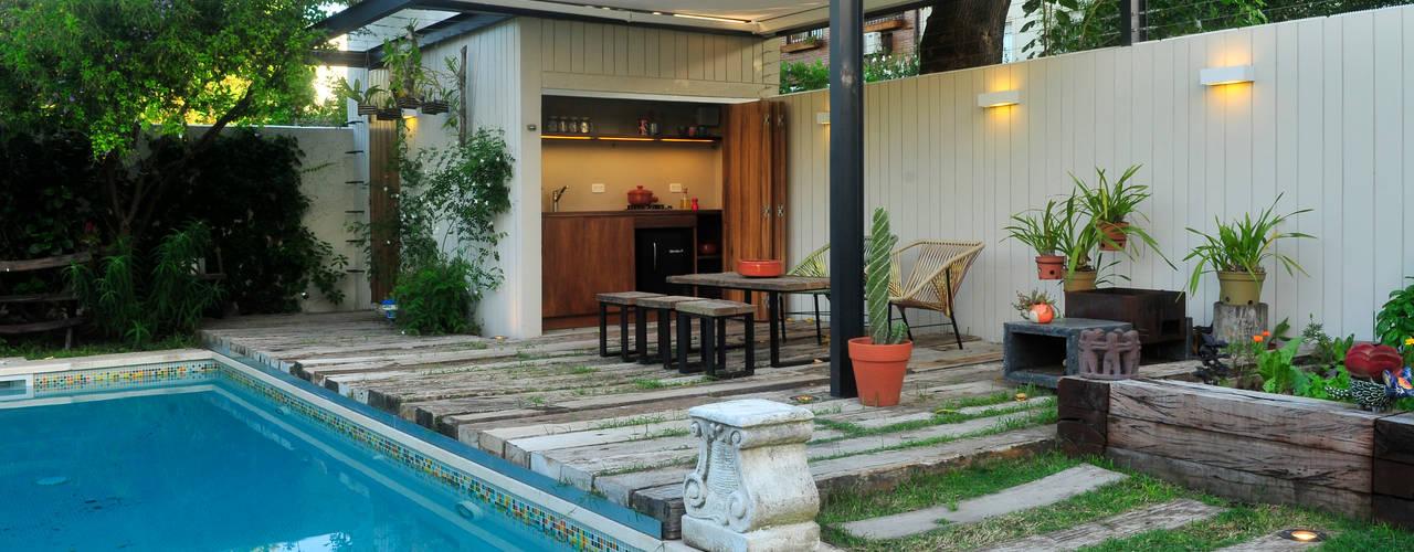 Jardins modernos por Paula Herrero | Arquitectura Moderno