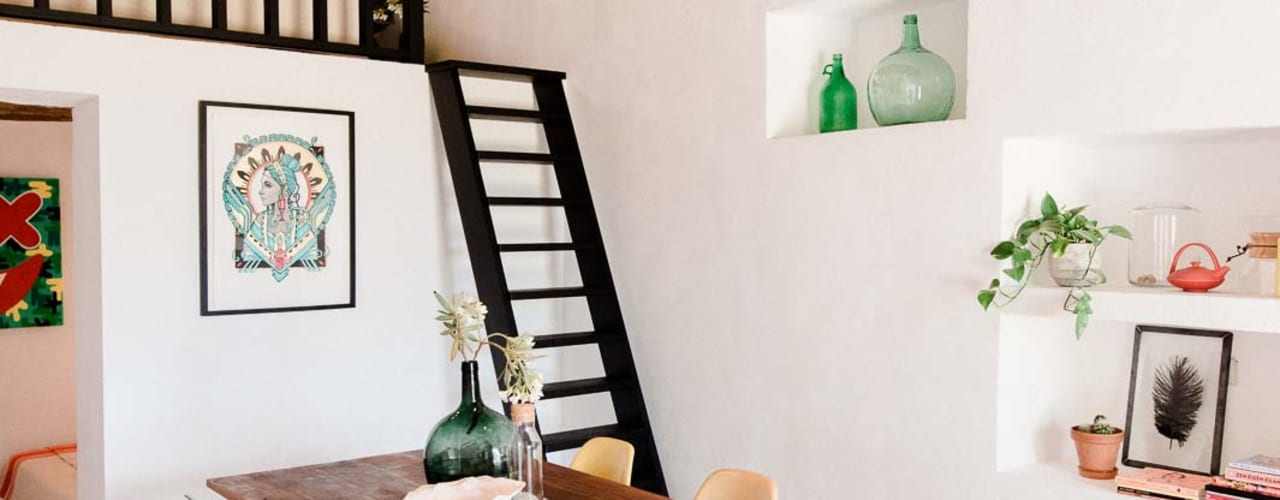 Projekty,  Salon zaprojektowane przez Ibiza Interiors - Nederlandse Architect Ibiza