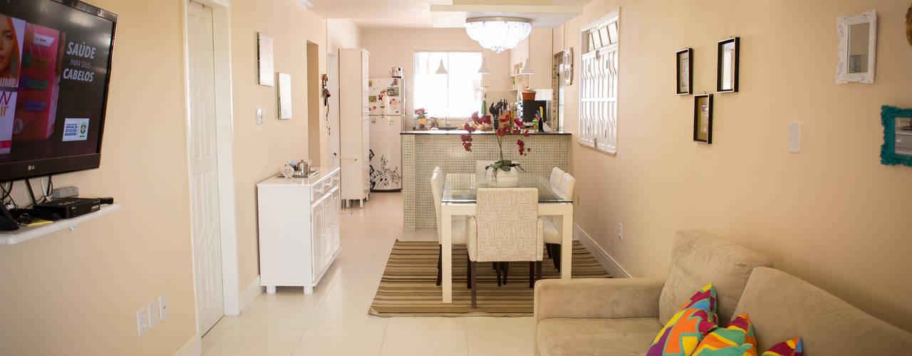 Dining room by P2 Arquitetos Associados