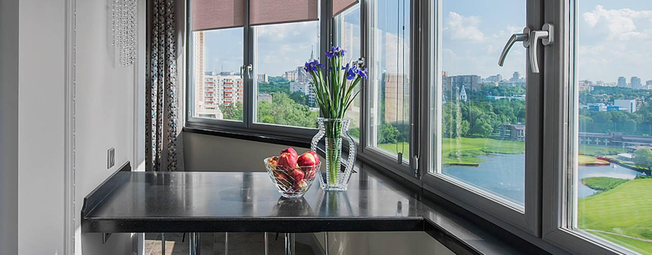 Квартира на Пырьева: Tерраса в . Автор – Надежда Каппер