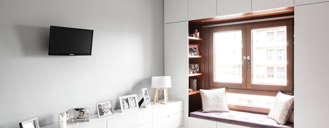 臥室 by Estúdio AMATAM