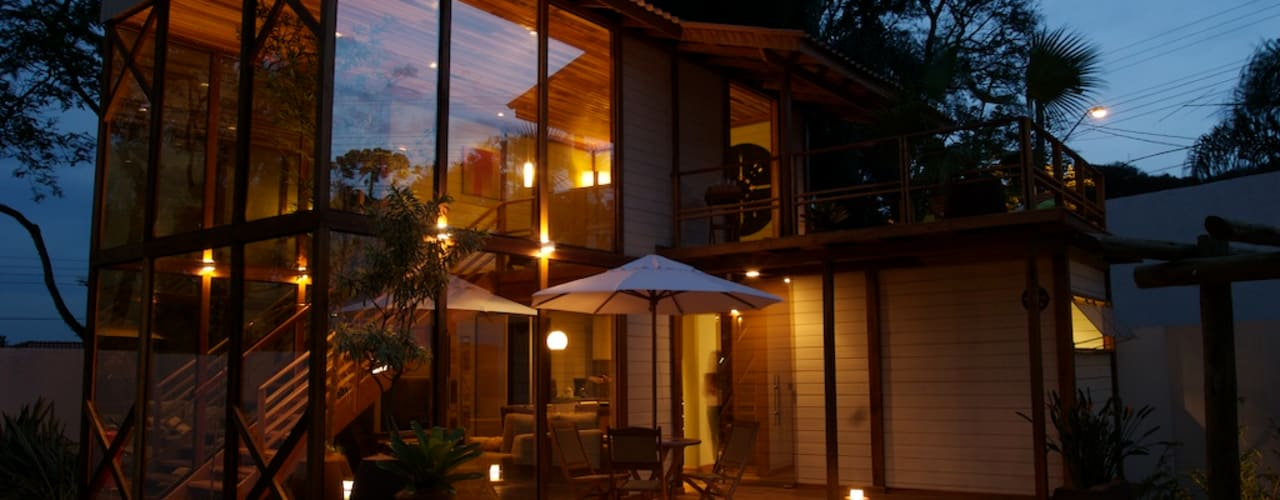 บ้านและที่อยู่อาศัย โดย Juliana Lahóz Arquitetura, ทรอปิคอล