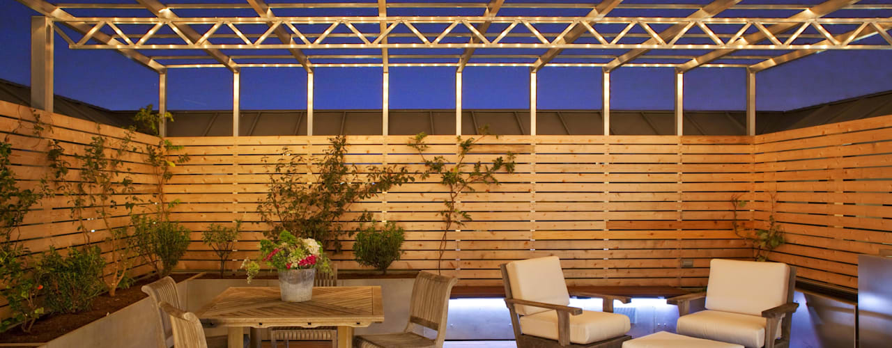 Modern DC Patio Lighting :  Houses by Hinson Design Group