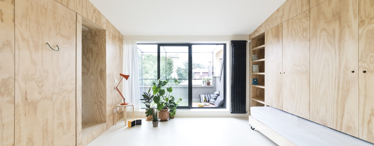 Modern Oturma Odası studio wok Modern