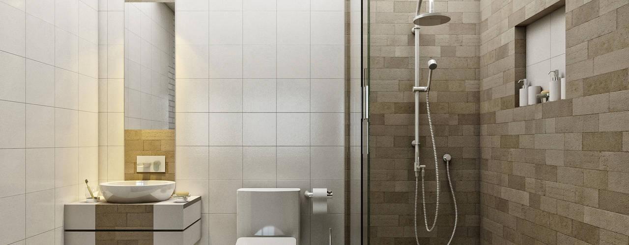 LOFT ESTUDIO arquitectura y diseño Modern Bathroom Ceramic White