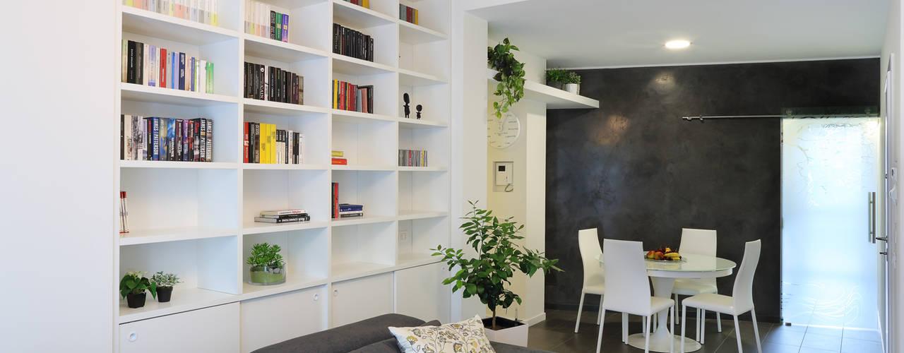studio ferlazzo natoli Salas de estar minimalistas