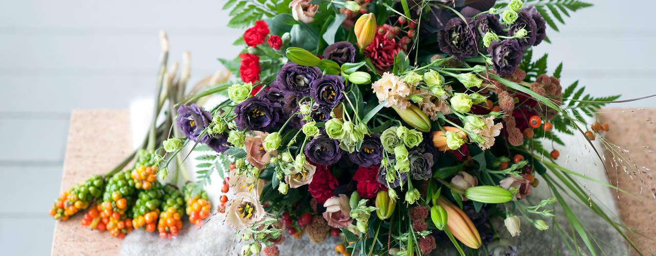 Herbstblumen Moderne Wohnzimmer von Tollwasblumenmachen.de Modern