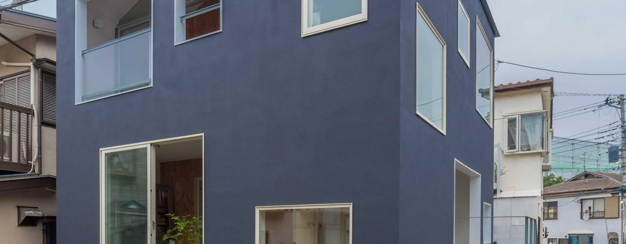 北烏山の住宅: 水石浩太建築設計室/ MIZUISHI Architect Atelierが手掛けた家です。