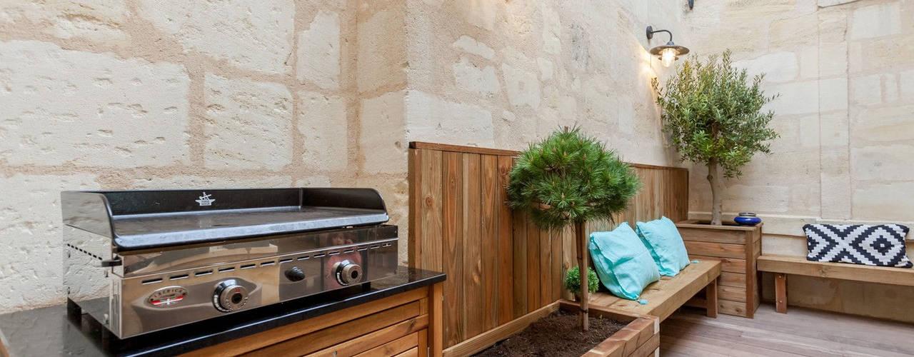 Terrazas de estilo  por FORT & SALIER