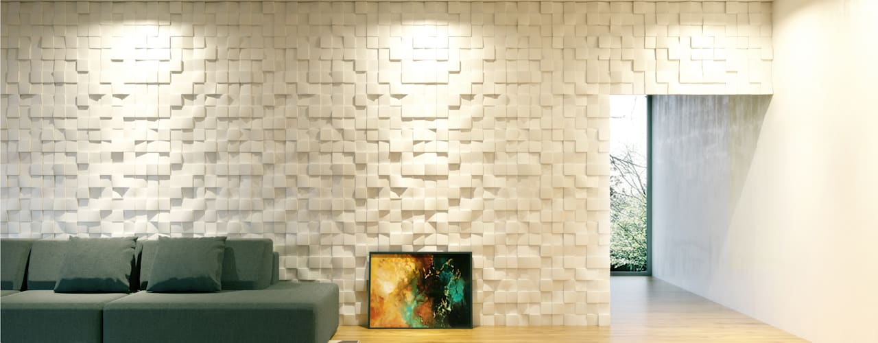 Artpanel 3D Wall Panels Living roomAccessories & decoration White