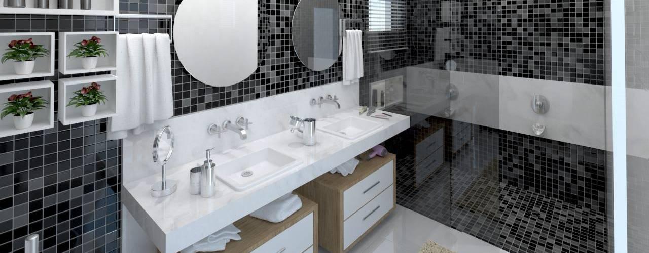 Bathroom by LK Studio Arquitetura,