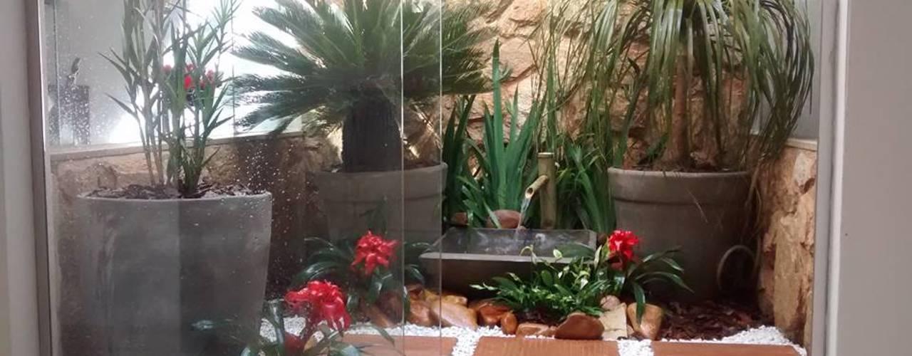 Jardines de estilo  por Borges Arquitetura & Paisagismo , Moderno