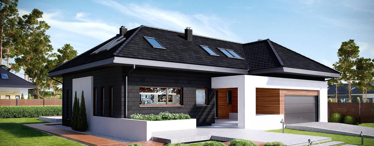 Rumah by HomeKONCEPT | Projekty Domów Nowoczesnych