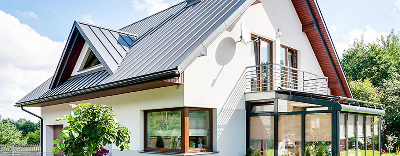 Moderner Wintergarten von Biuro Projektów MTM Styl - domywstylu.pl Modern